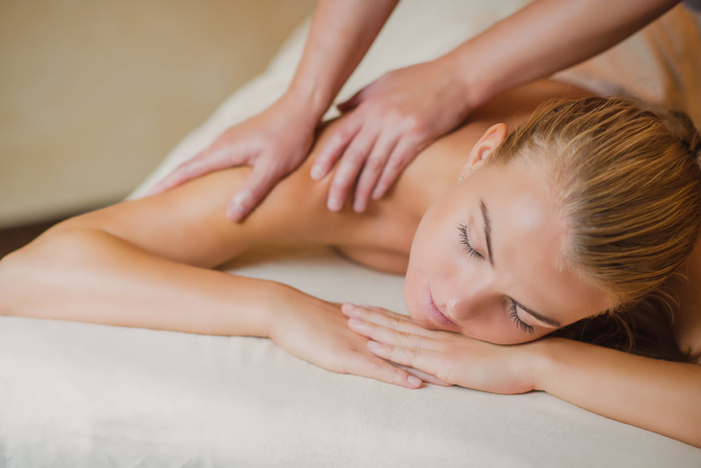Classic Swedish massage treatment at Massaaži Ekspress Tallinn salon, Estonia