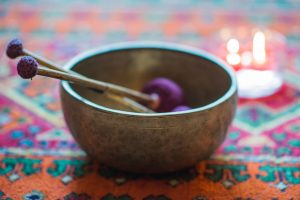 This is just one of the several bowls that we use for sound therapy at Massaaži Ekspress Tallinn salon, Estonia